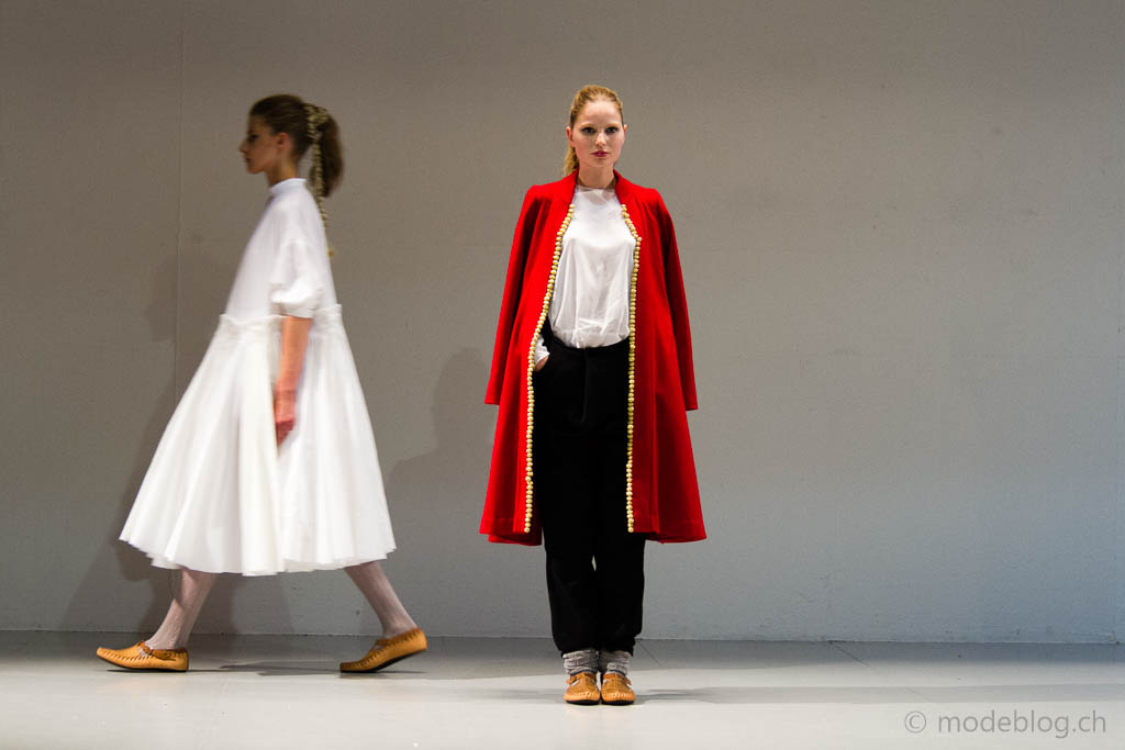 Modeschau Modeschule Zürich 2014 Fitore Neziri Baresha