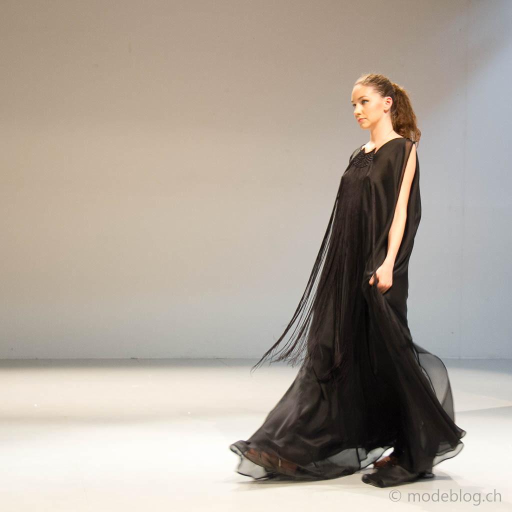 Modeschau Modeschule Zürich 2014 Gabriela Martinovic Revue