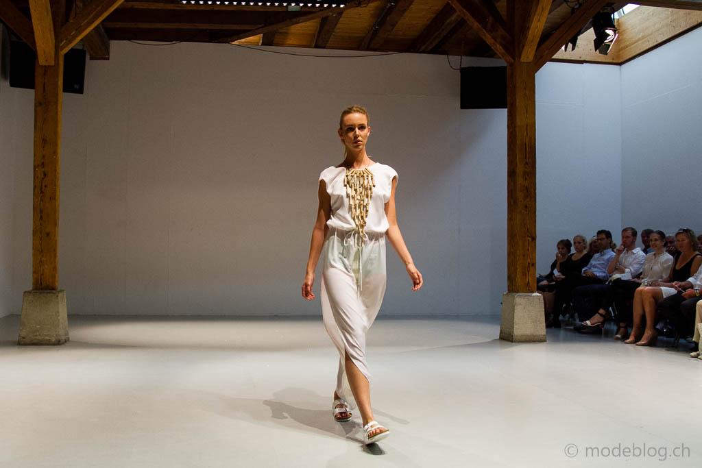Modeschau Modeschule Zürich 2014 Laura Kopp Woodan