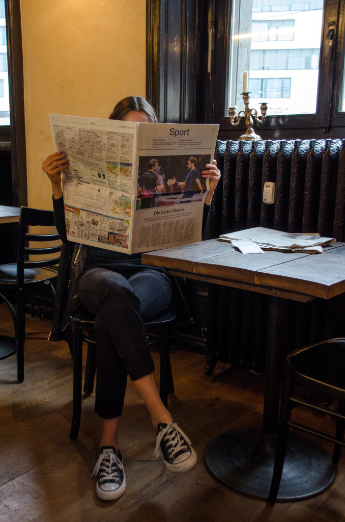 Zeitung Stellwerk